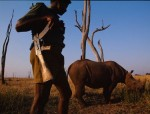 Sense and Sustainability  Ranger guarding Rhino